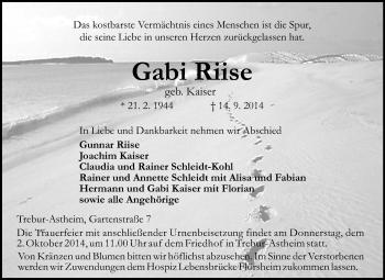 Gabi-Riise