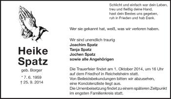 Heike-Spatz