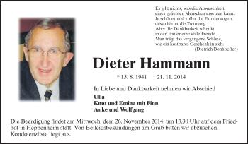 Dieter-Hammann