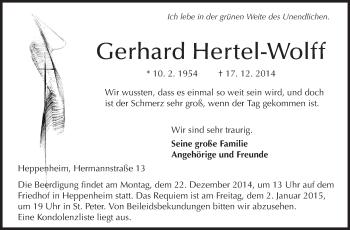 Gerhard-Hertel-Wolff