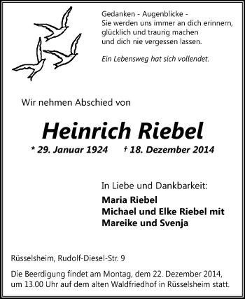 Heinrich-Riebel