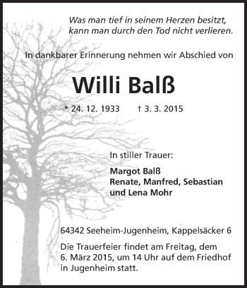 Willi-Balss