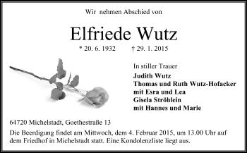 Elfriede-Wutz